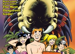 Archie vs. Predator #1 cover