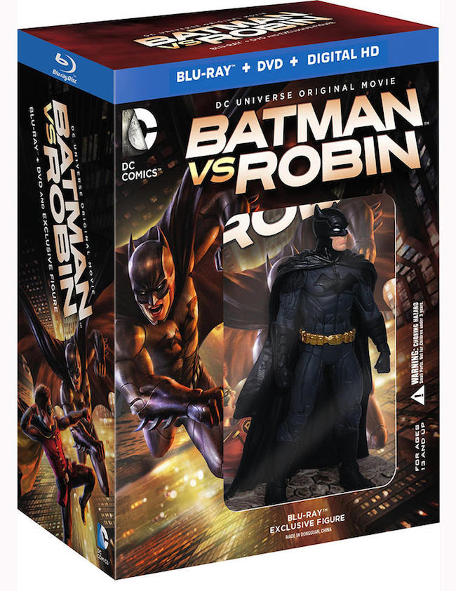 Batman vs. Robin action figure pack