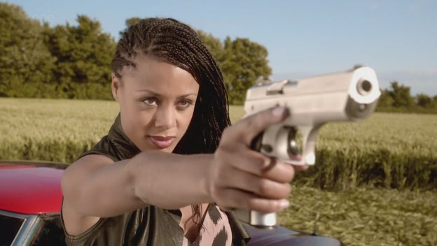 Mels (Nina Toussaint-White) in Doctor Who