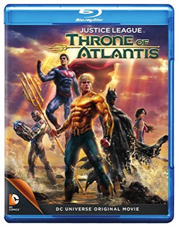 Justice League: Throne of Atlantis cover