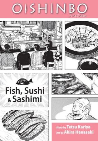 Oishinbo a la Carte: Fish, Sushi & Sashimi cover