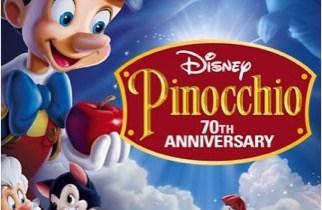 Pinocchio DVD cover