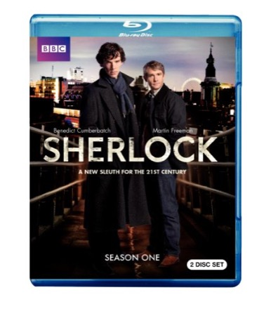 Sherlock Season 1 cover