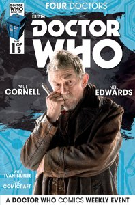 Doctor Who: Four Doctors #1 photo cover