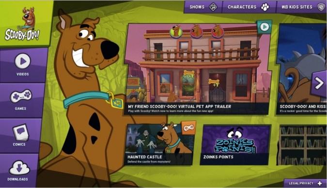 ScoobyDoo.com screenshot