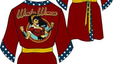 Wonder Woman Red Robe