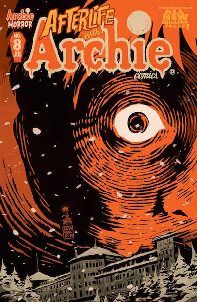 Afterlife With Archie #8 cover