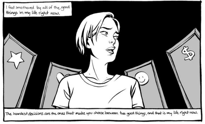 Between Gears panel by Natalie Nougat