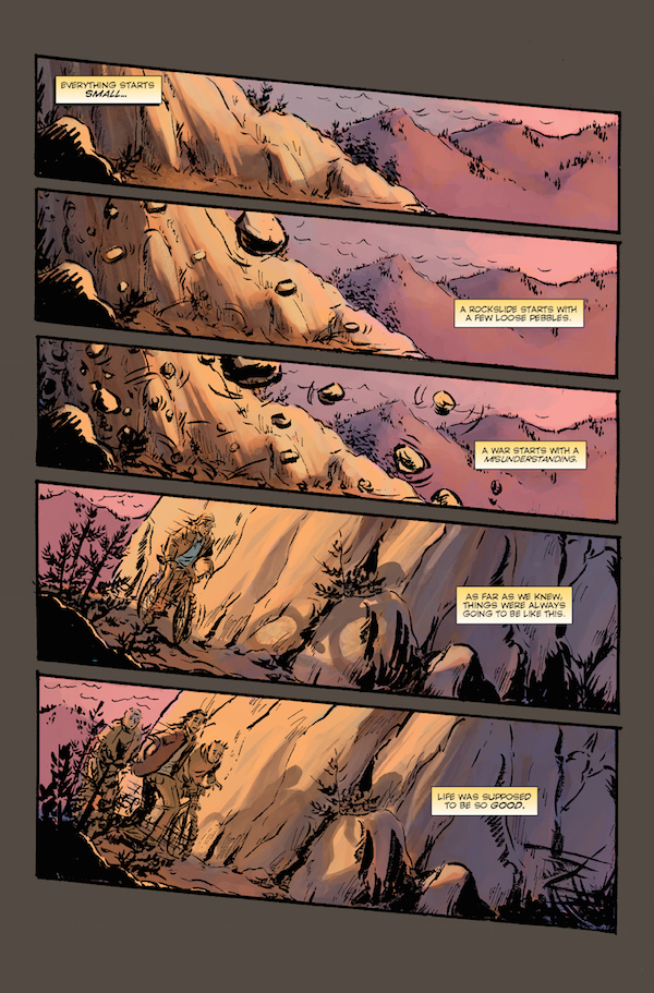 Elk's Run sample page 1