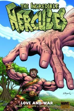 Incredible Hercules: Love and War cover