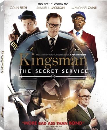 Kingsman: The Secret Service Blu-ray cover