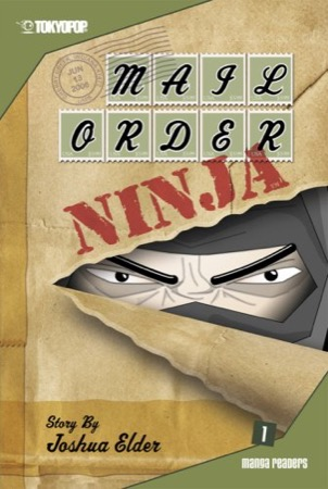 Mail Order Ninja volume 1 cover