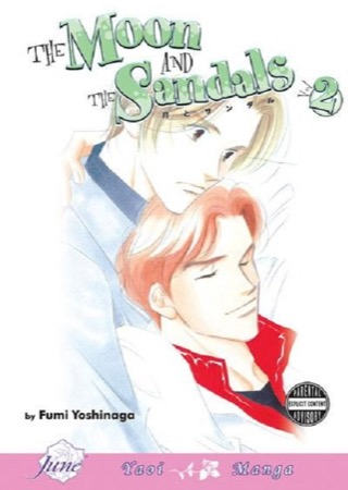 The Moon and the Sandals volume 2 cover