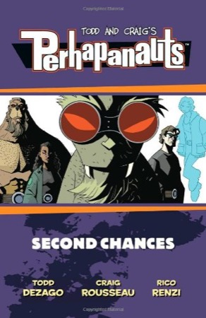 The Perhapanauts: Second Chances cover