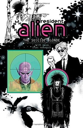 Resident Alien Volume 2: The Suicide Blonde cover