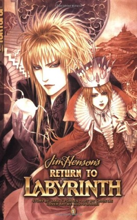 Return to Labyrinth volume 1 cover