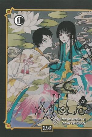 xxxHOLiC Rei Book 1 cover