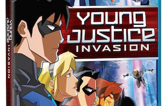 Young Justice: Invasion on Blu-ray