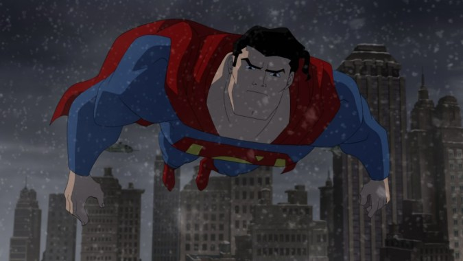 Superman in The Dark Knight Returns Part 2