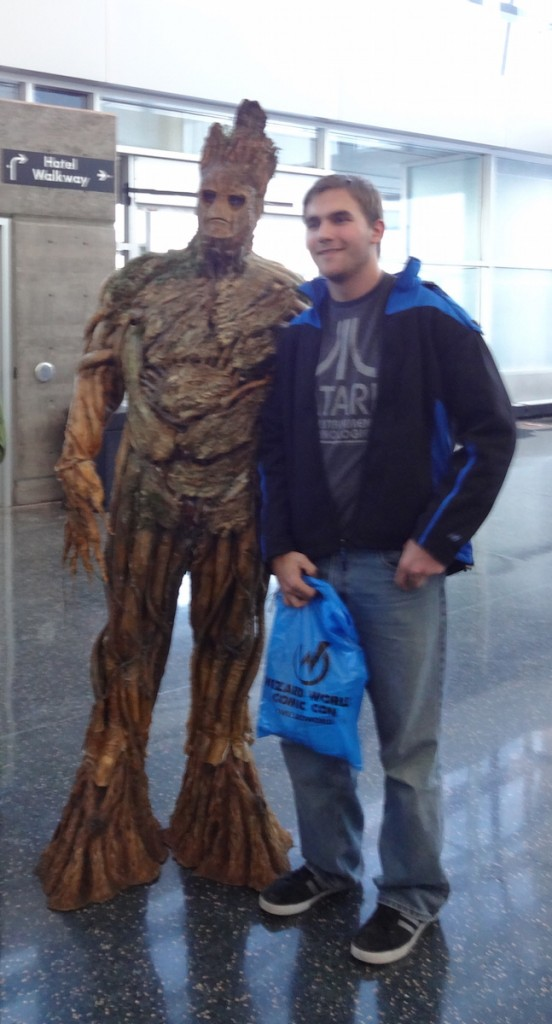 Groot at Wizard World Madison 2015
