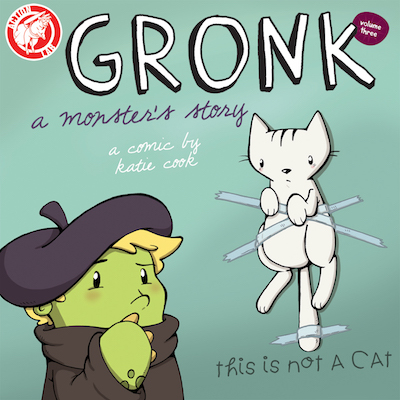 Gronk: A Monster's Story volume 3 cover