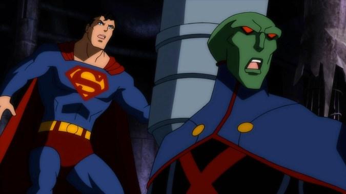 Justice League: Doom - Superman and Martian Manhunter
