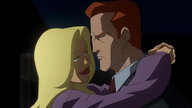 Detective Corrigan has romantic history with Aimee Brenner, voiced by Alyssa Milano