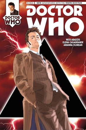 Doctor Who: The Tenth Doctor #11 cover