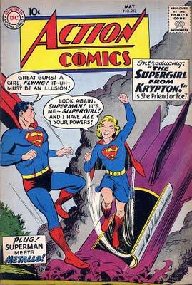 Supergirl debuts in Action Comics #252