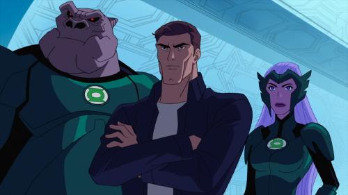 Kilowog and Hal Jordan