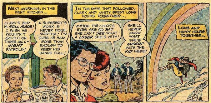 Superboy in love ... and not coming home