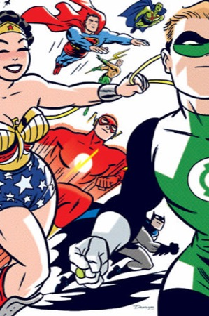 Absolute DC: The New Frontier cover