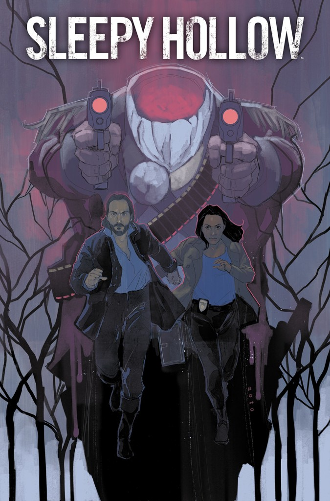 Sleepy Hollow #1 cover by Phil Noto
