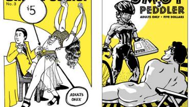 Smut Peddler #3 covers