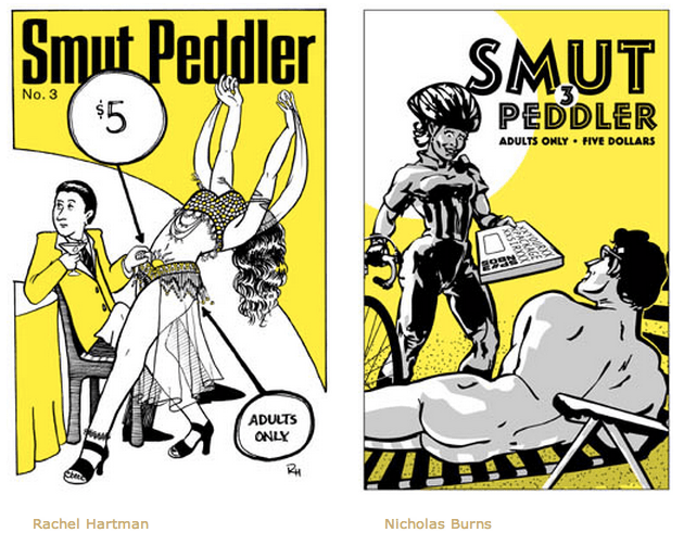 Smut Peddler #3 covers