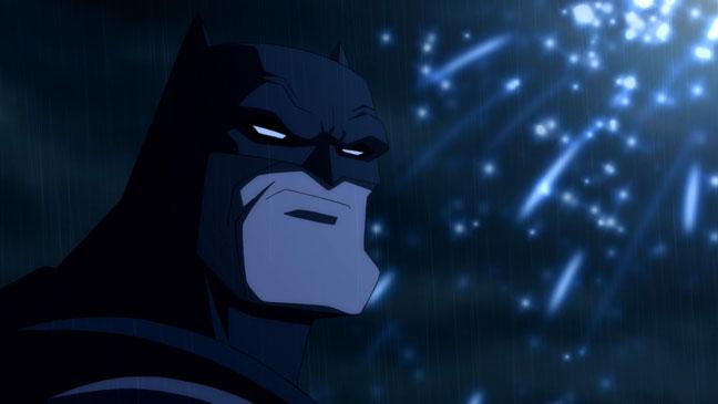 The Dark Knight Returns animated movie adaptation Batman