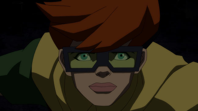 The Dark Knight Returns animated movie adaptation Robin