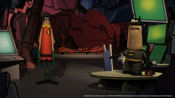 Batman by Aardman
