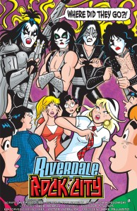 Archie Meets KISS page 1