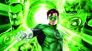 Green Lantern Emerald Knights Blu-ray cover