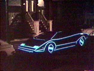 Automan's car