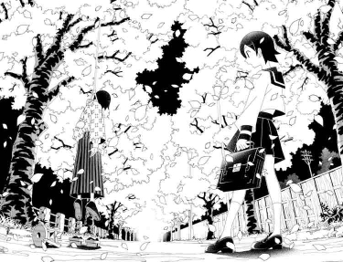 Sayonara Zetsubou-Sensei page spread