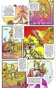 Princeless page 1