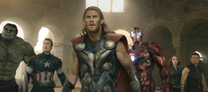 The Avengers team