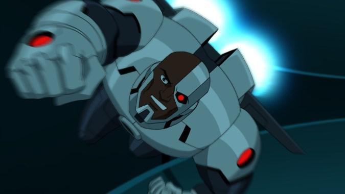 Cyborg in Batman Unlimited