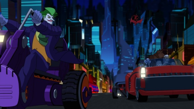 Batman Unlimited Joker and villains