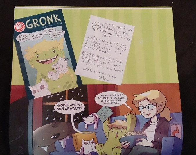 Gronk: A Monster's Story volume 4 page