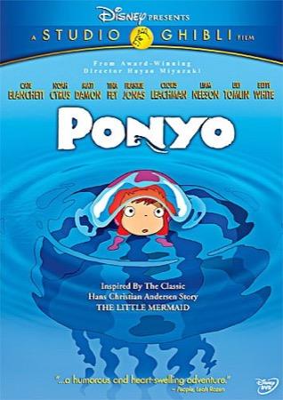 Ponyo DVD