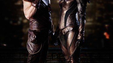 Hawkman and Hawkgirl TV costumes