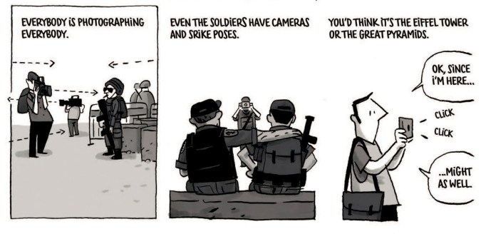 Excerpt from Jerusalem by Guy Delisle